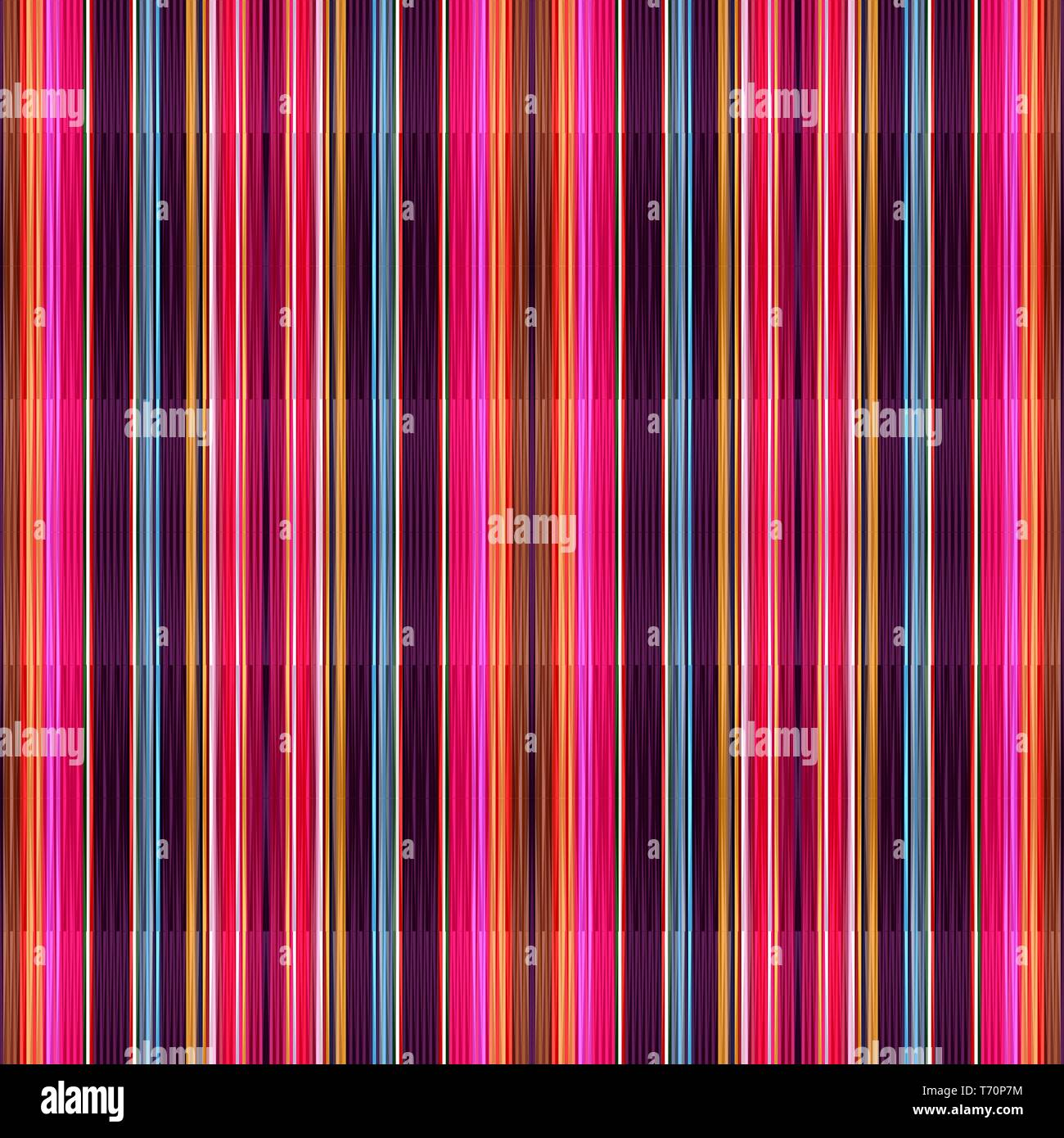 Seamless Vertical Lines Wallpaper Pattern With Crimson