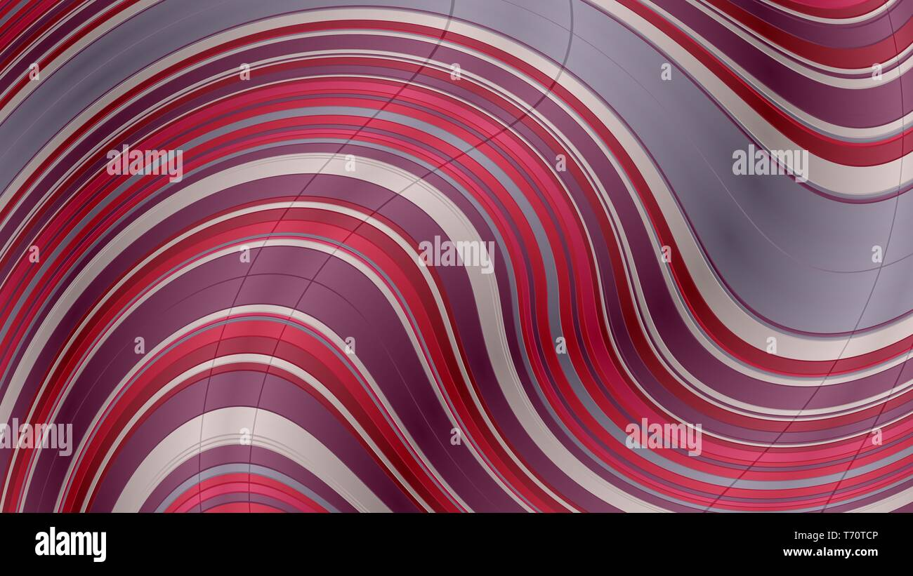 Old Mauve Silver And Dark Gray Abstract Wavy Wallpaper Background