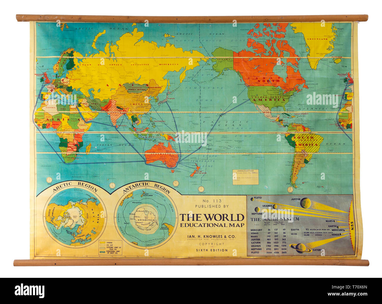 Map Of The World With Names Stock Photos & Map Of The World With ...