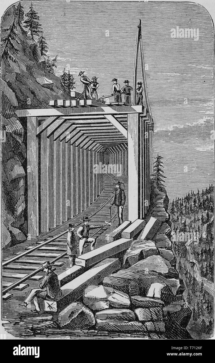 In railroad 1800s workers the How did