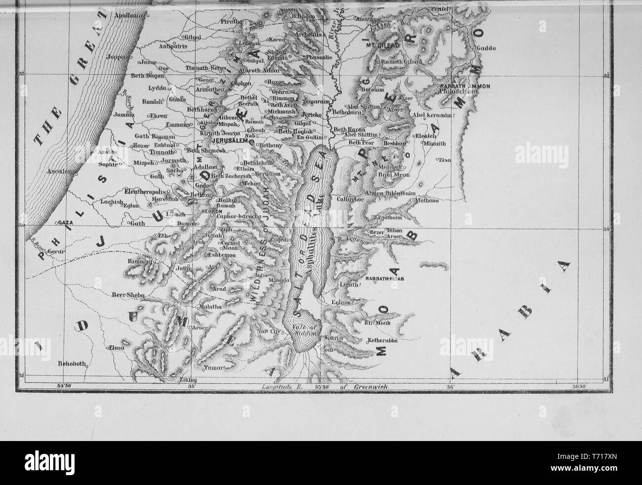 Map Egypt Black and White Stock Photos & Images - Alamy on