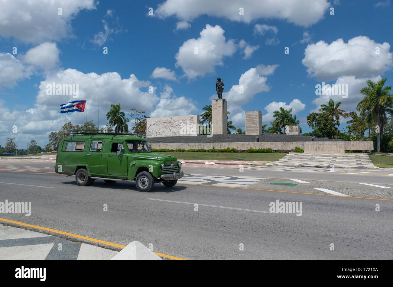 Che Guevara's Monument and Mausoleum.Santa Clara was the site in late 1958 of the last battle in the Cuban Revolution. Stock Photo