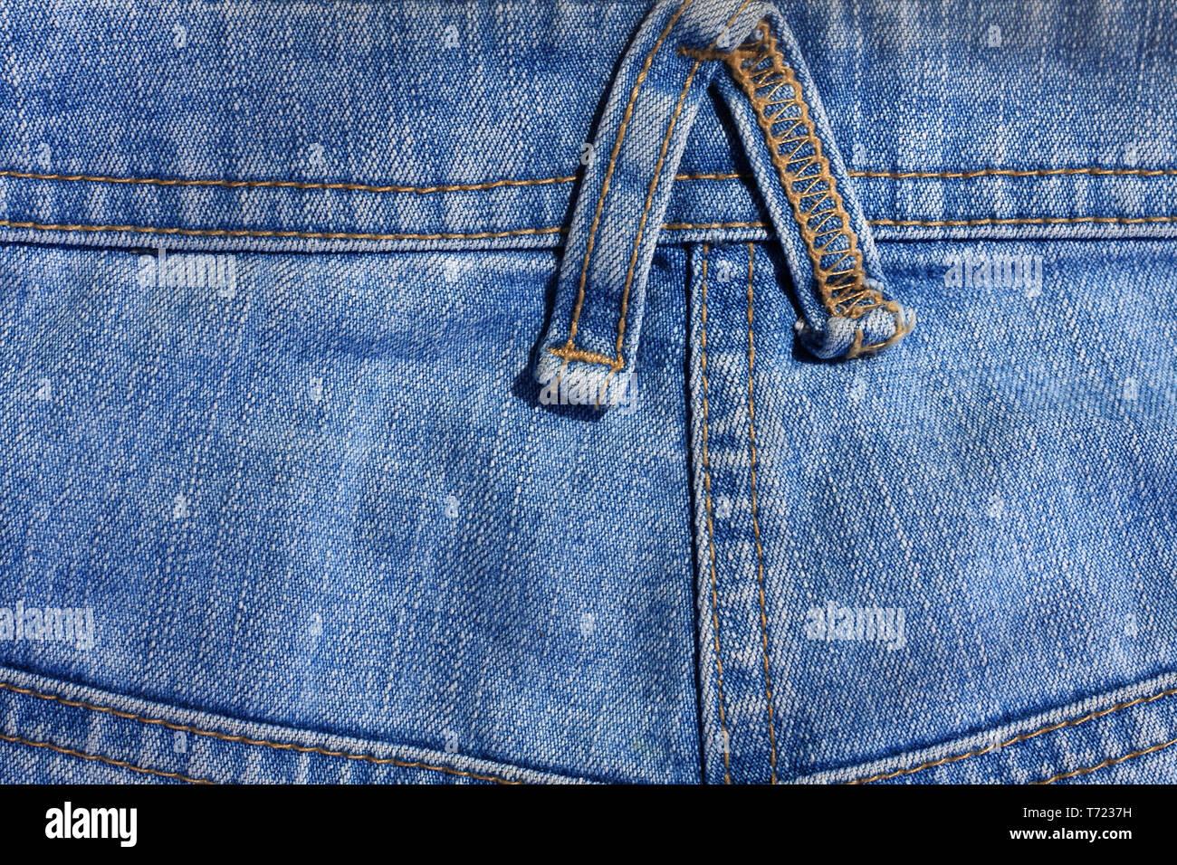 Jeans yoke - Stock Image
