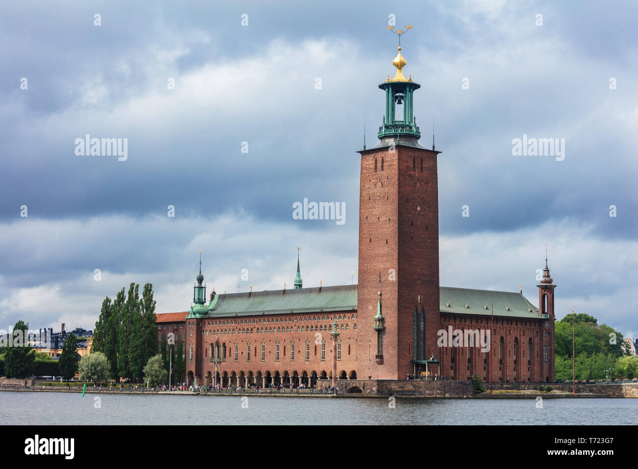 City Hall (Stadhuset). Stockholm, Sweden - Stock Image