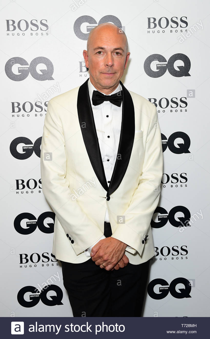File photo dated 5/9/2017 of Dylan Jones, the editor-in-chief of GQ magazine, who has warned the media industry not to be cowed by the fear of losing readers by pursuing a Me Too agenda. - Stock Image