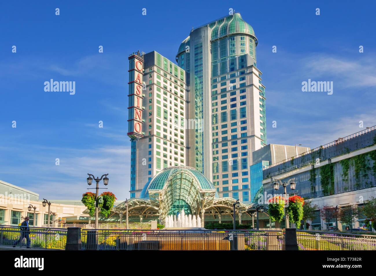 Fallsview Casino And Hotel In Downtown Niagara Falls Ontario