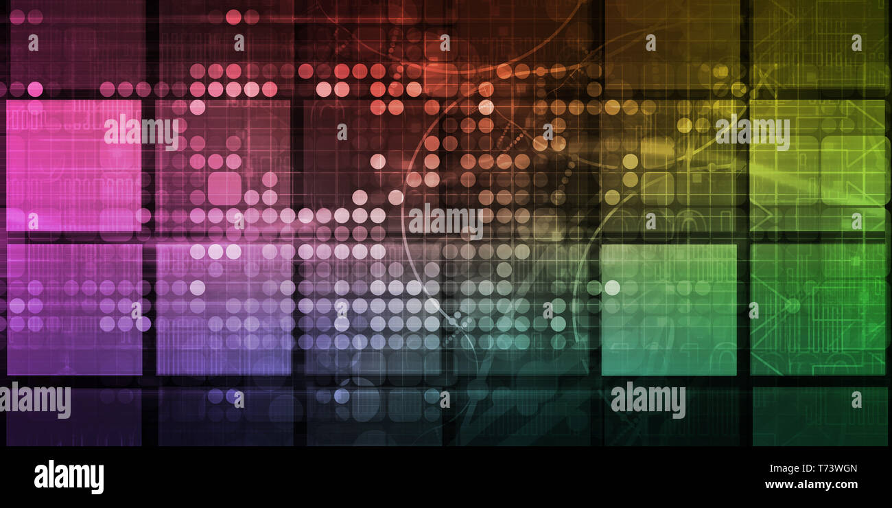 Business Data Analytics Solution for Workflow Management - Stock Image