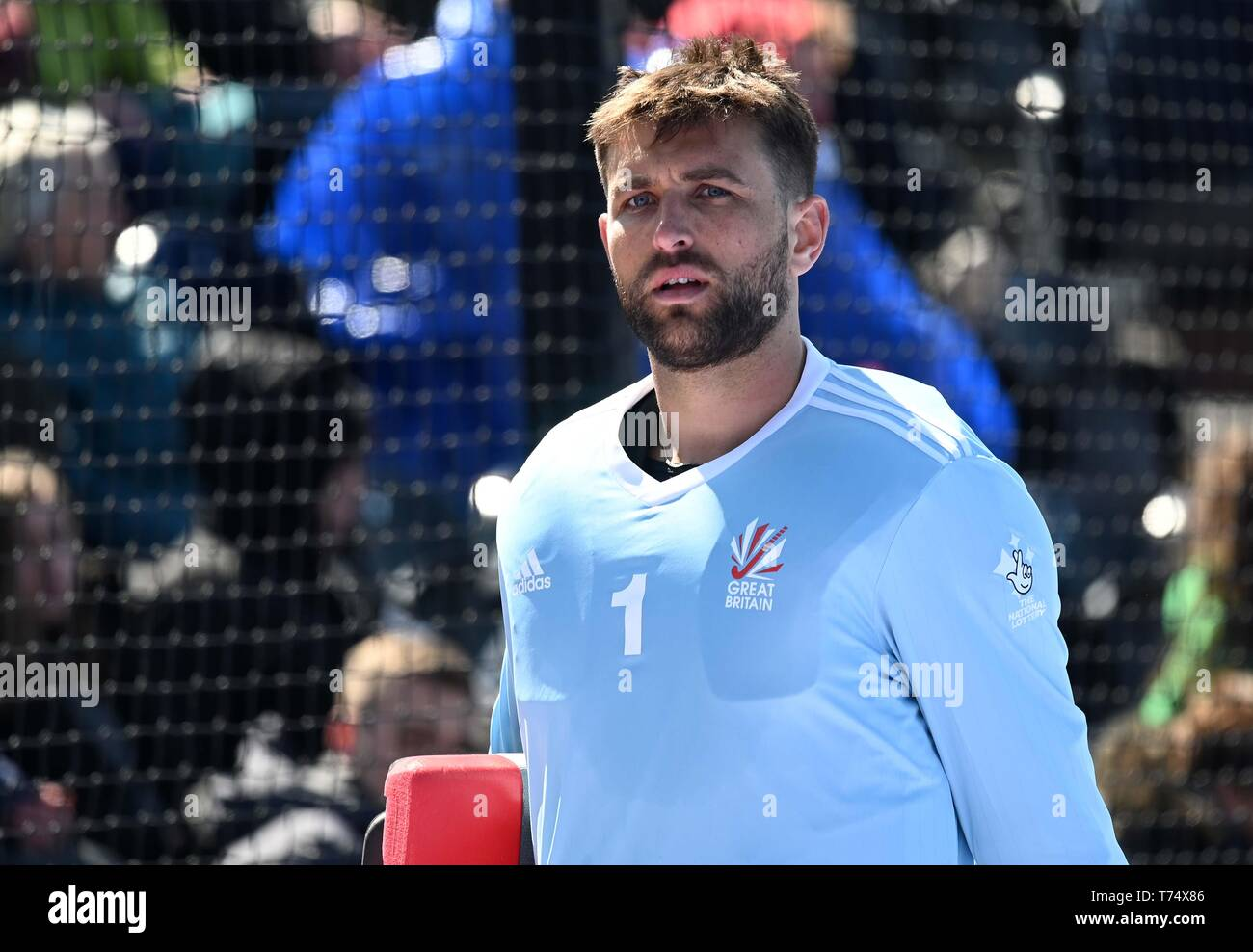 London Uk 4th May 2019 George Pinner Great Britain Goalkeeper