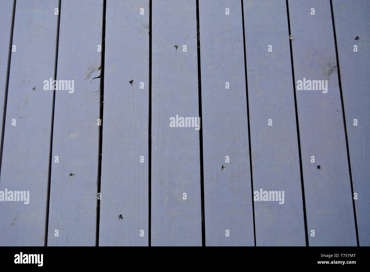 Wood Planks From a Porch - Stock Image