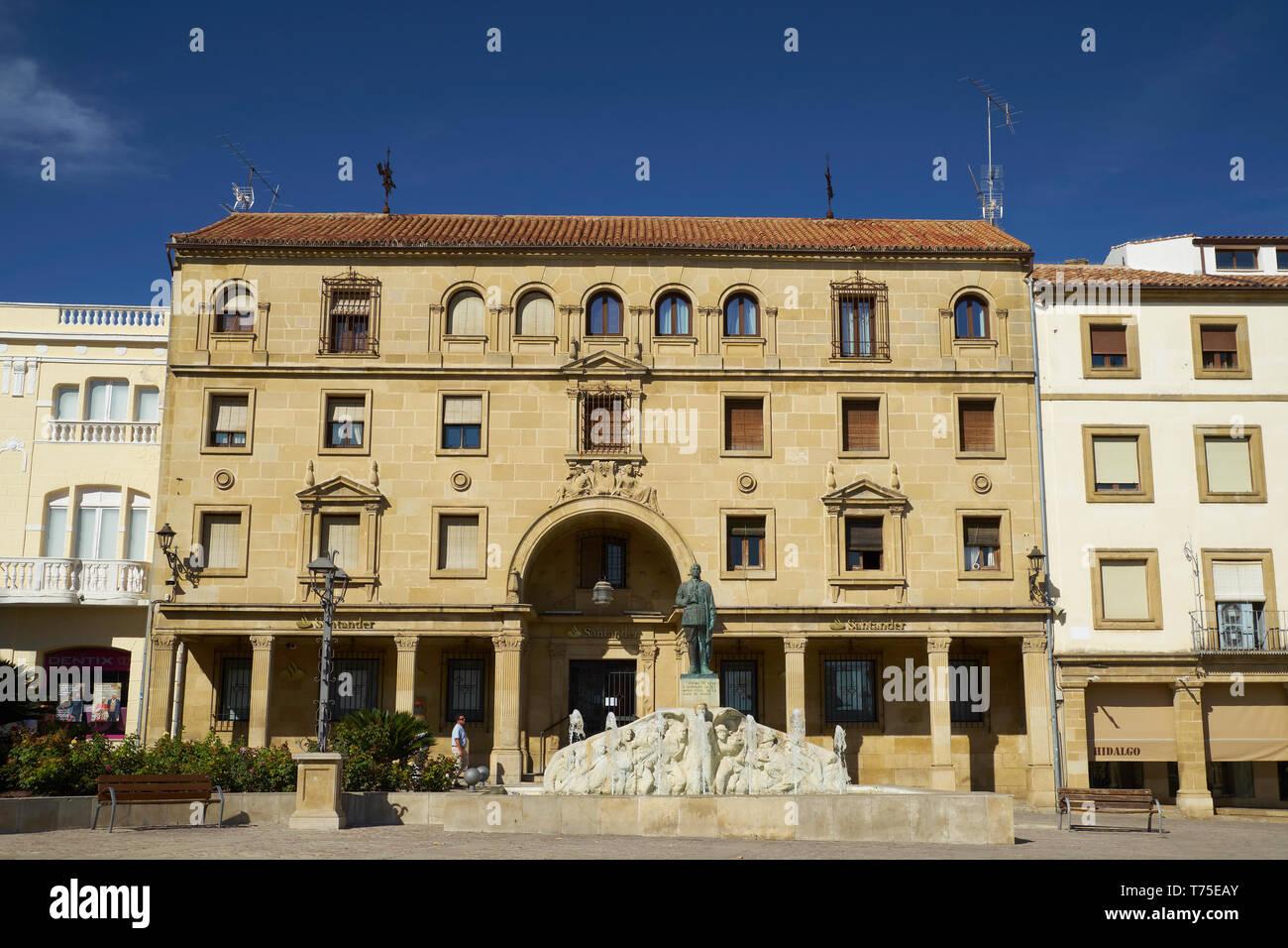 Plaza de Andalucía, Úbeda, Jaén, Spain. Stock Photo