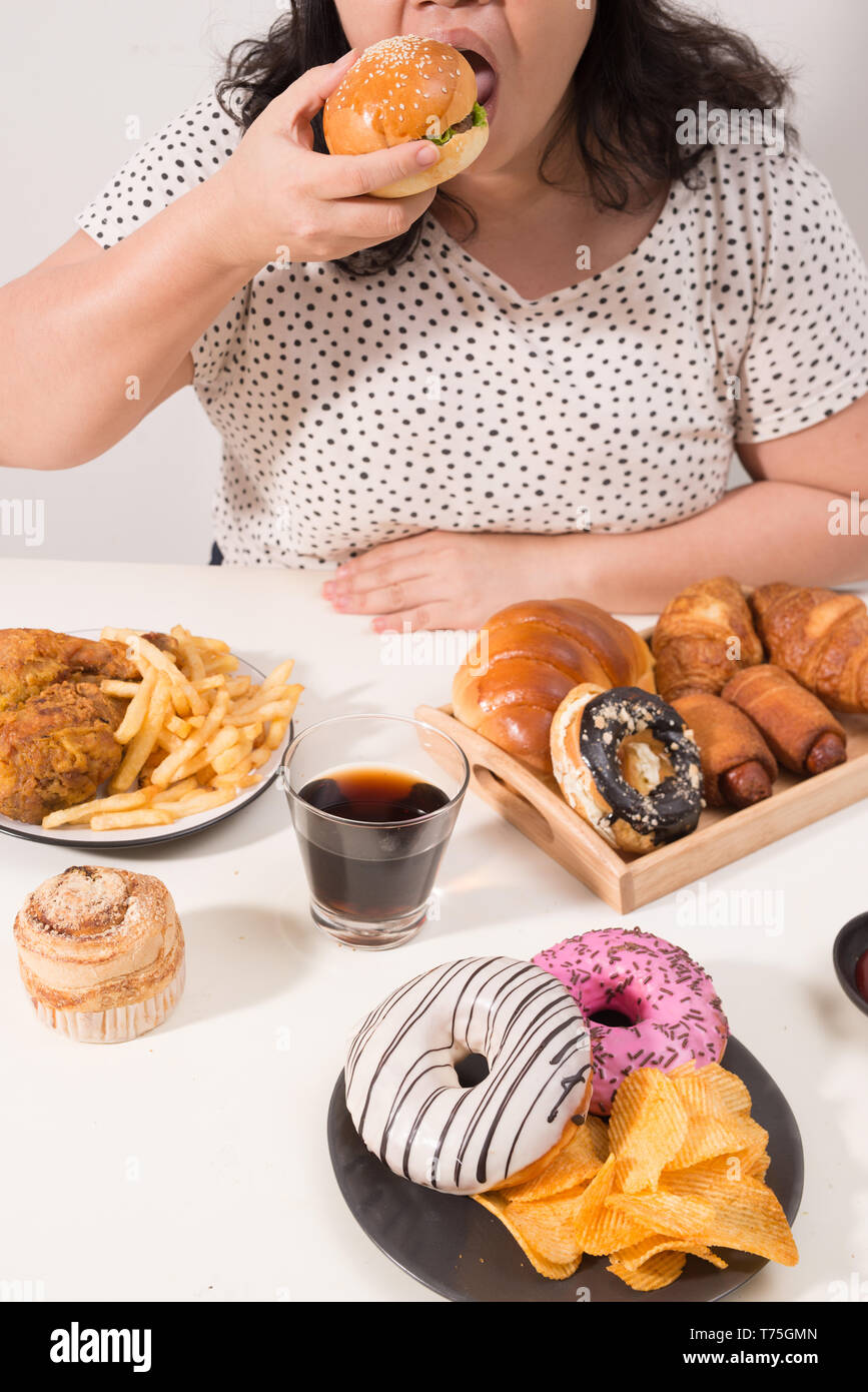 Overeating Stock Photos & Overeating Stock Images - Alamy