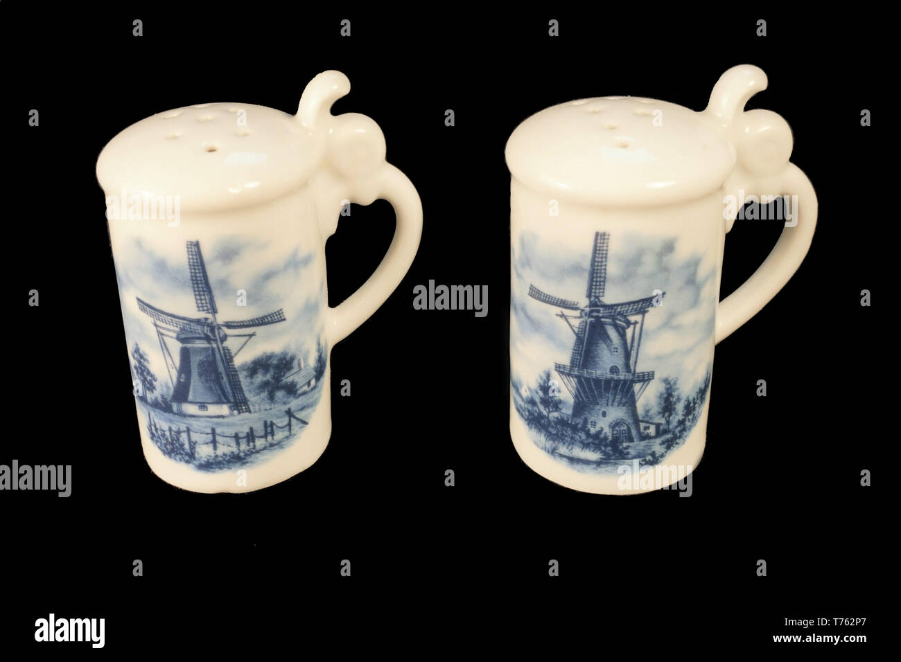 Precise Vintage Delft Blue Holland Dutch Tea Light Children Holding Hands Pottery & China Delft