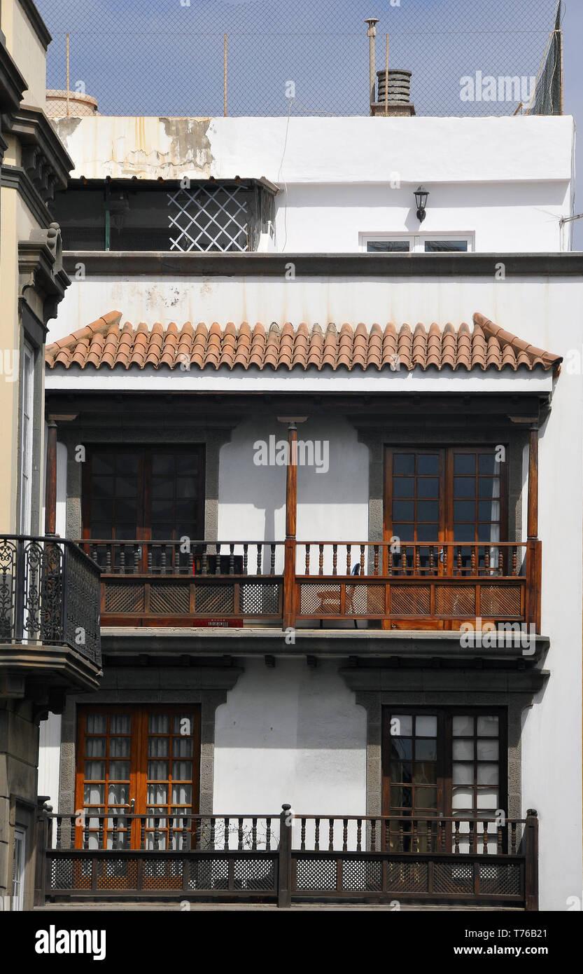 Las Palmas de Gran Canaria, Spain - Stock Image