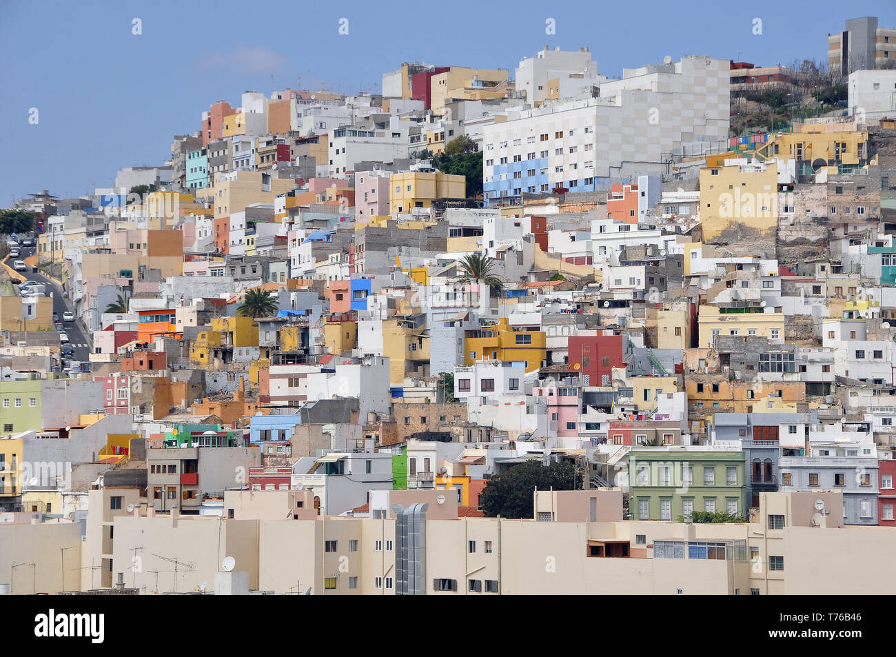 View of Las Palmas, Gran Canaria, Spain - Stock Image