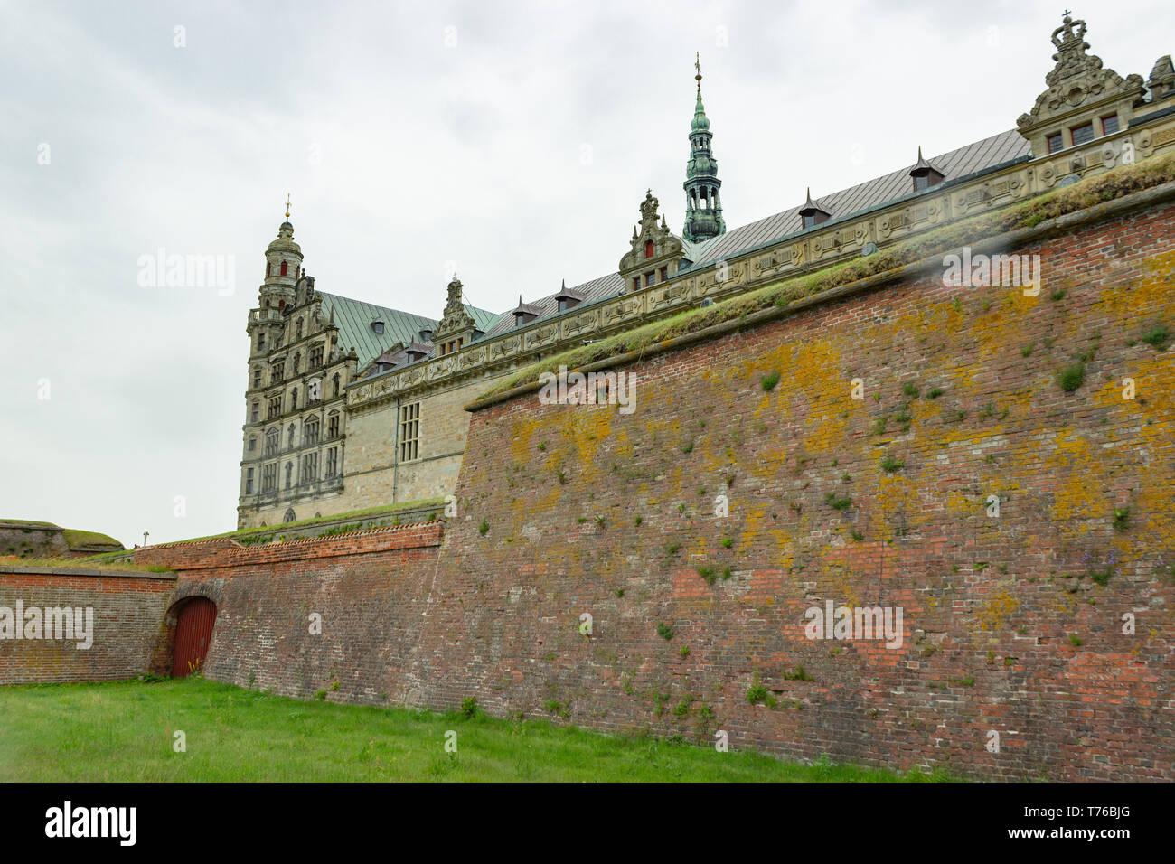 Kronborg castle, Denmark - Stock Image