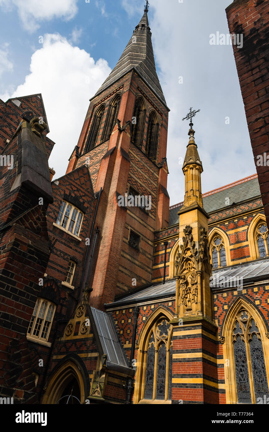 All Saints Church - Margaret St, - London - Stock Image