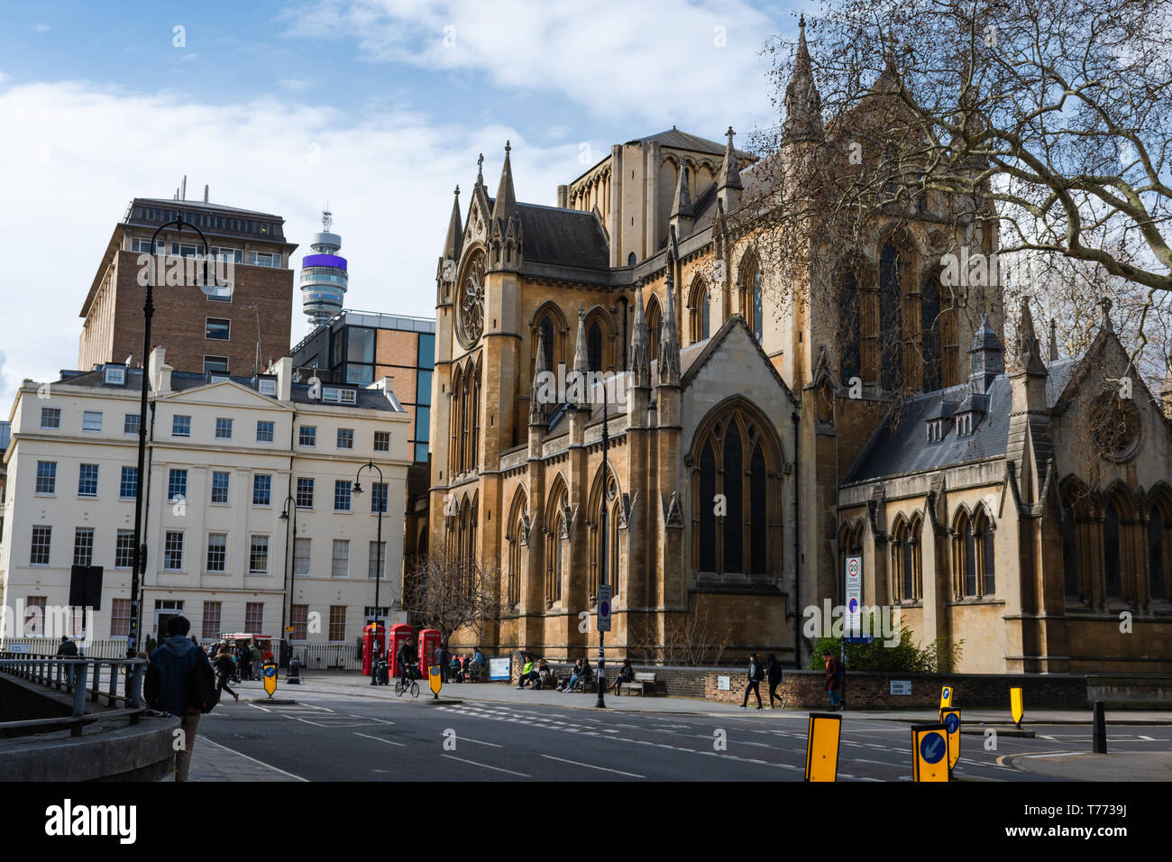 Church of Christ the King - London - Stock Image