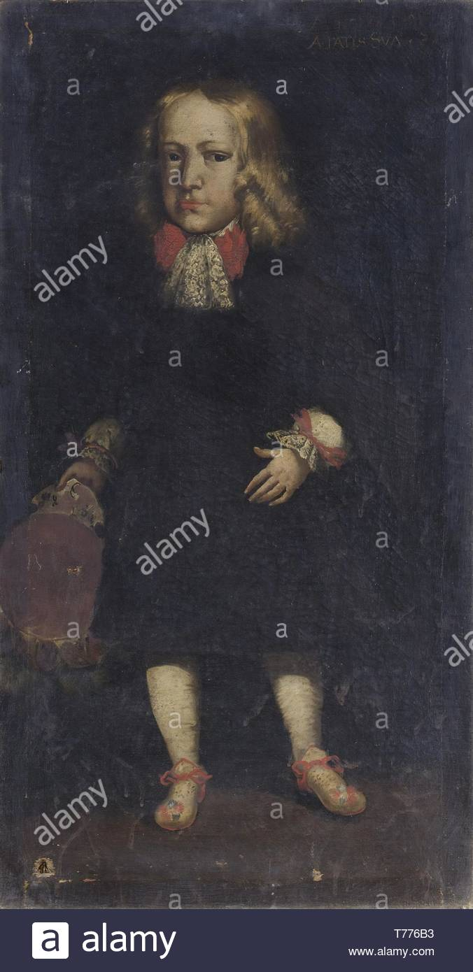 Ritratto Maschile-nameless - Stock Image