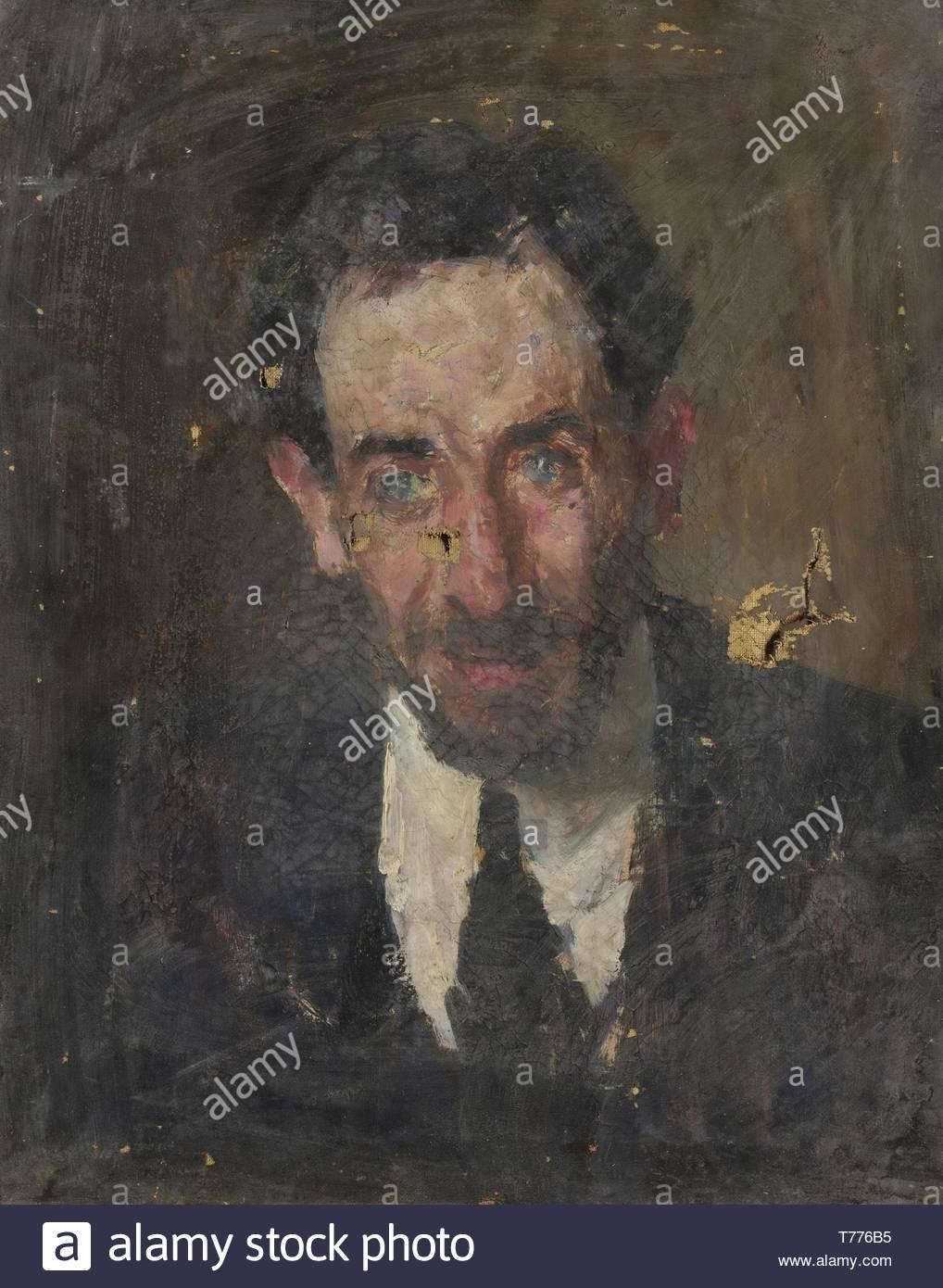 Ritratto Virile-nameless - Stock Image