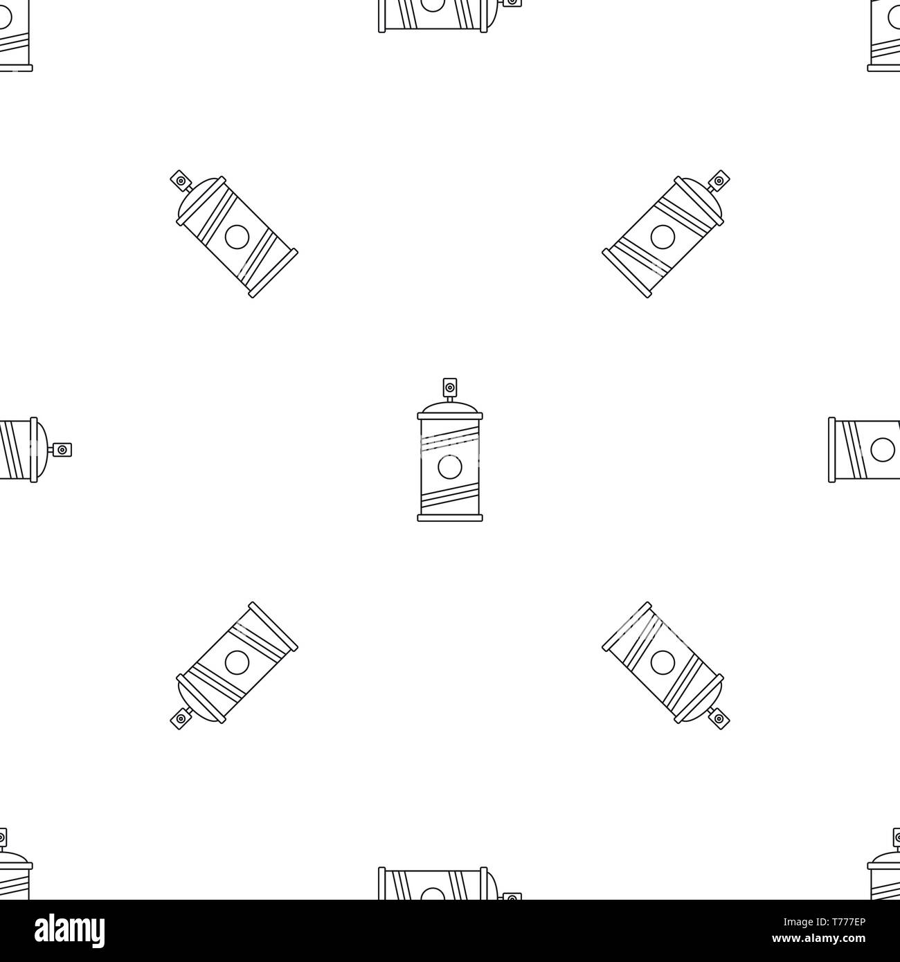 Painting spray pattern seamless vector repeat geometric for any web design - Stock Image