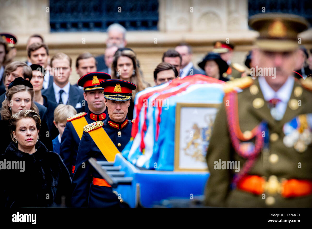 Funeral Grand Duke Jean Luxembourg Cathedral Uitvaart