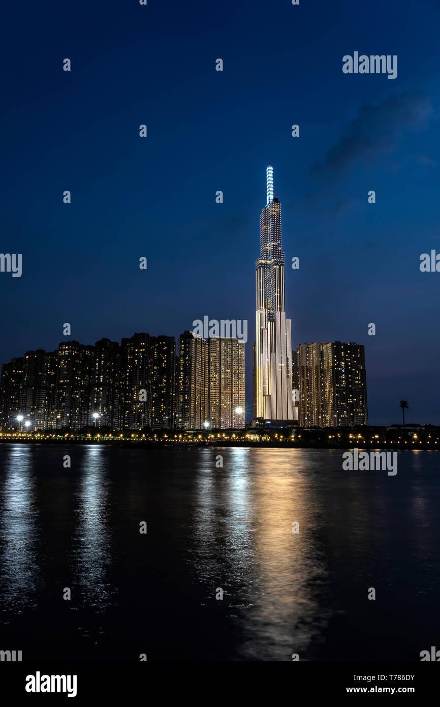 Vincom Vinpearl Luxury Landmark 81 - Stock Image
