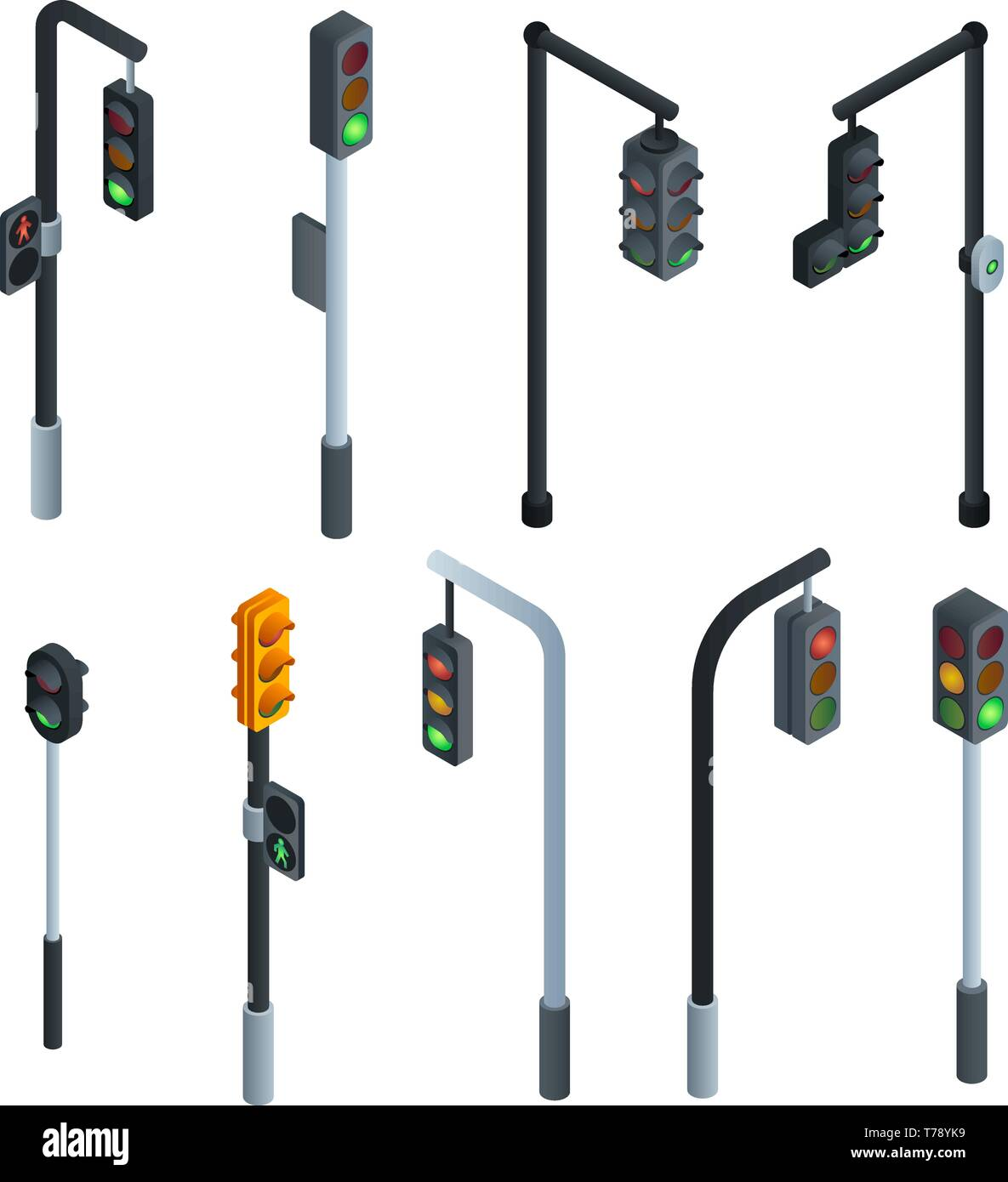 traffic lights icons set isometric set of traffic lights vector icons for web design isolated on white background stock vector image art alamy https www alamy com traffic lights icons set isometric set of traffic lights vector icons for web design isolated on white background image245445069 html