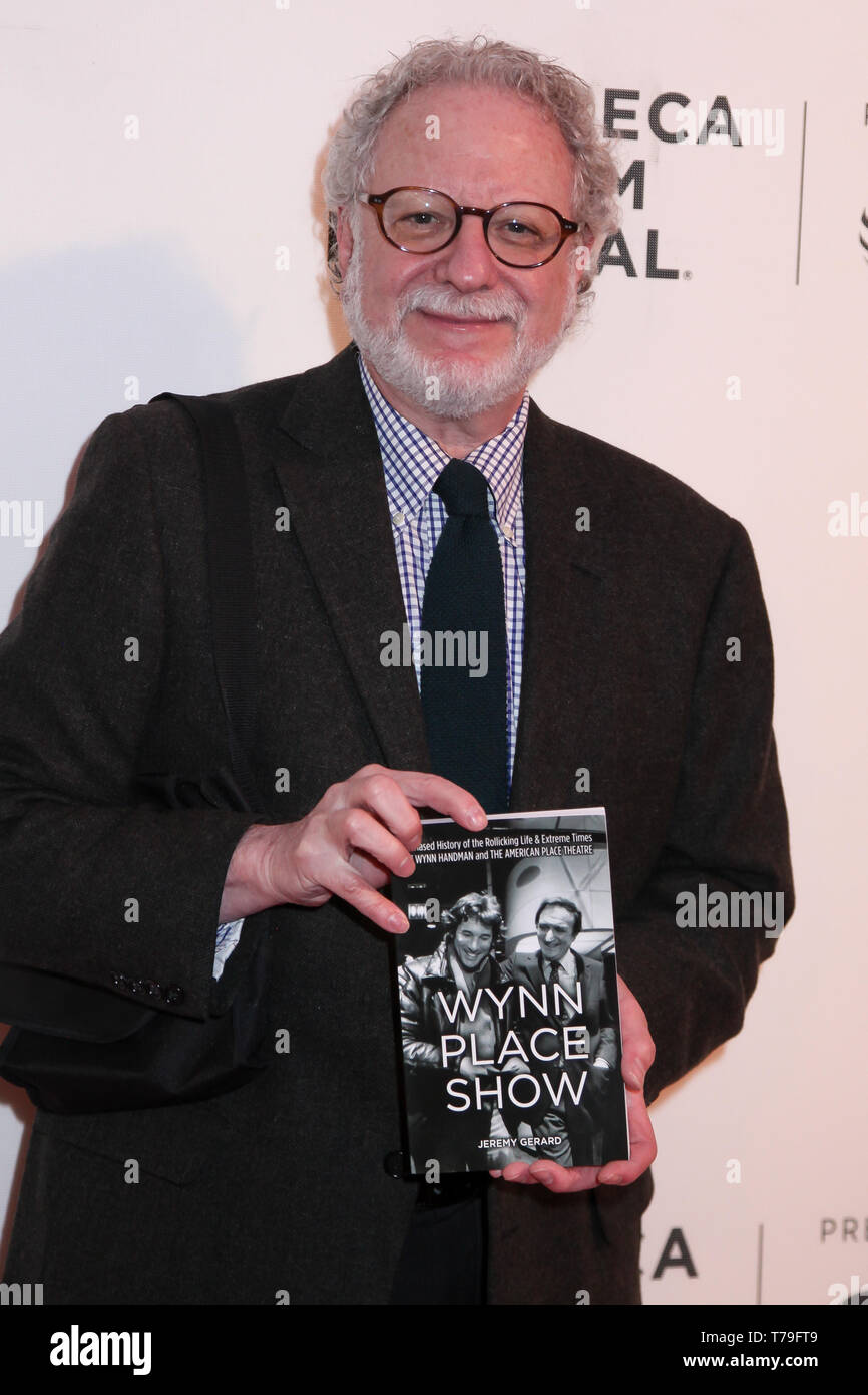 Jeremy Gerard attending at  'It Takes A Lunatic'  2019 Tribeca Film Festival at Stella Artois Theater at BMCC Tribeca Performing Arts Center - Stock Image
