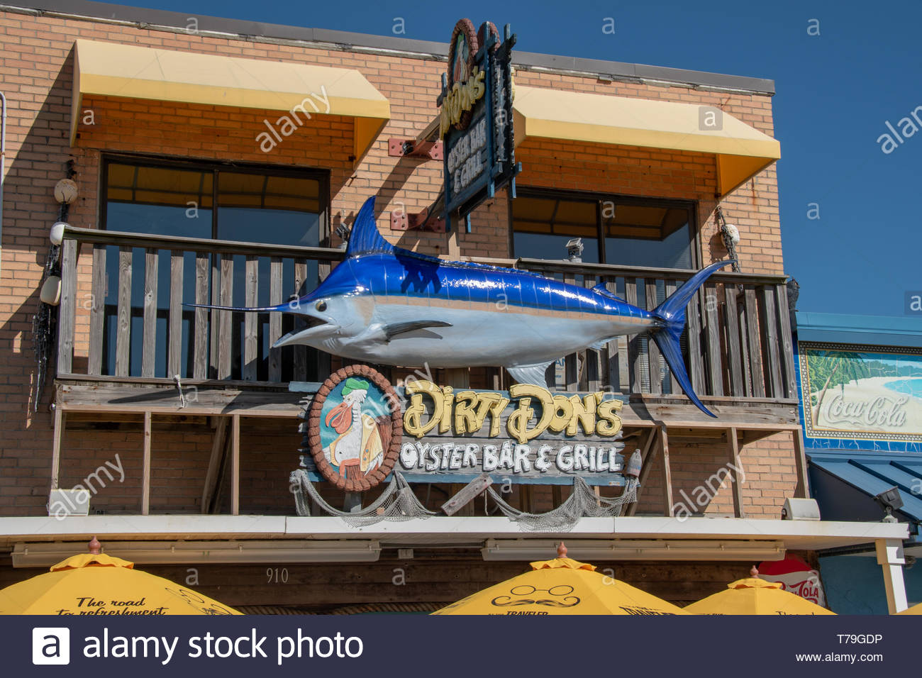 Dirty Don's Oyster Bar & Grill, N Myrtle Beach Sc - Stock Image