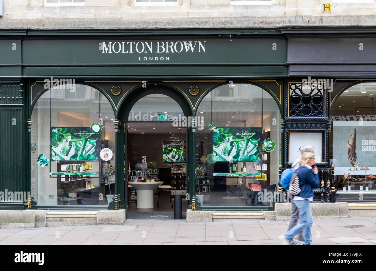 Molton Brown store in Union Street, Bath, UK - Stock Image