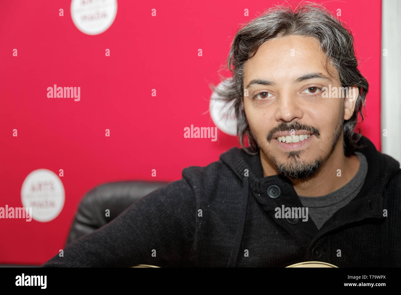 Villejuif, France. 31th Jan 2019. Yako attends Jairo's Positives Micro-Ondes show at Arts-Mada.Credit:Veronique Phitoussi/Alamy Stock Photo - Stock Image