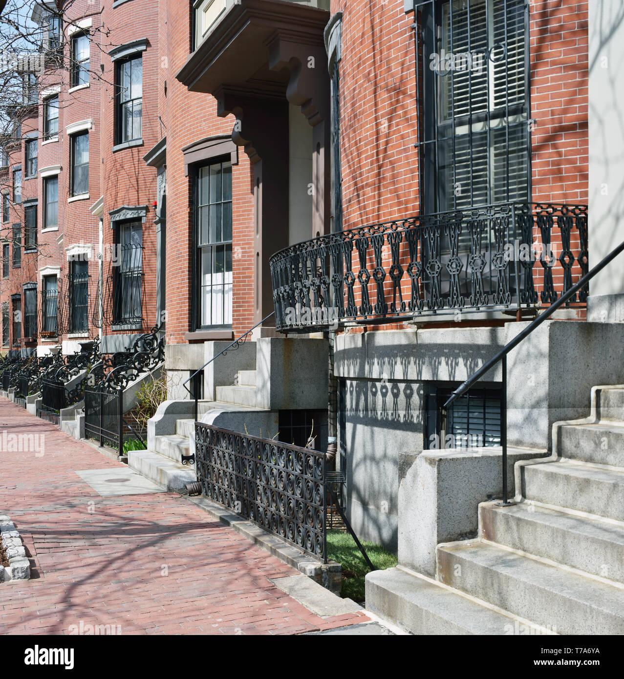 South End, Boston Stock Photos & South End, Boston Stock