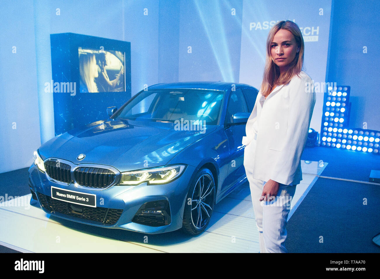 Spanish Racecar Driver Carmen Jorda Attends Passion Tech Bmw Days