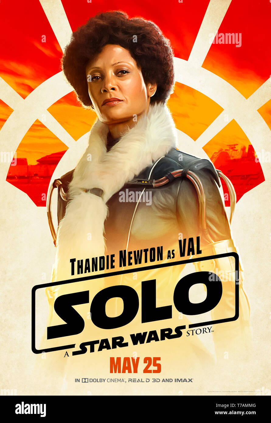 Solo A Star Wars Story 2018 Directed By Ron Howard And Starring Thandie Newton As Val Stock Photo Alamy