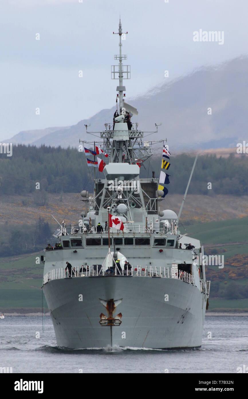 HMCS St John's (FFH-340), a Halifax-class frigate operated
