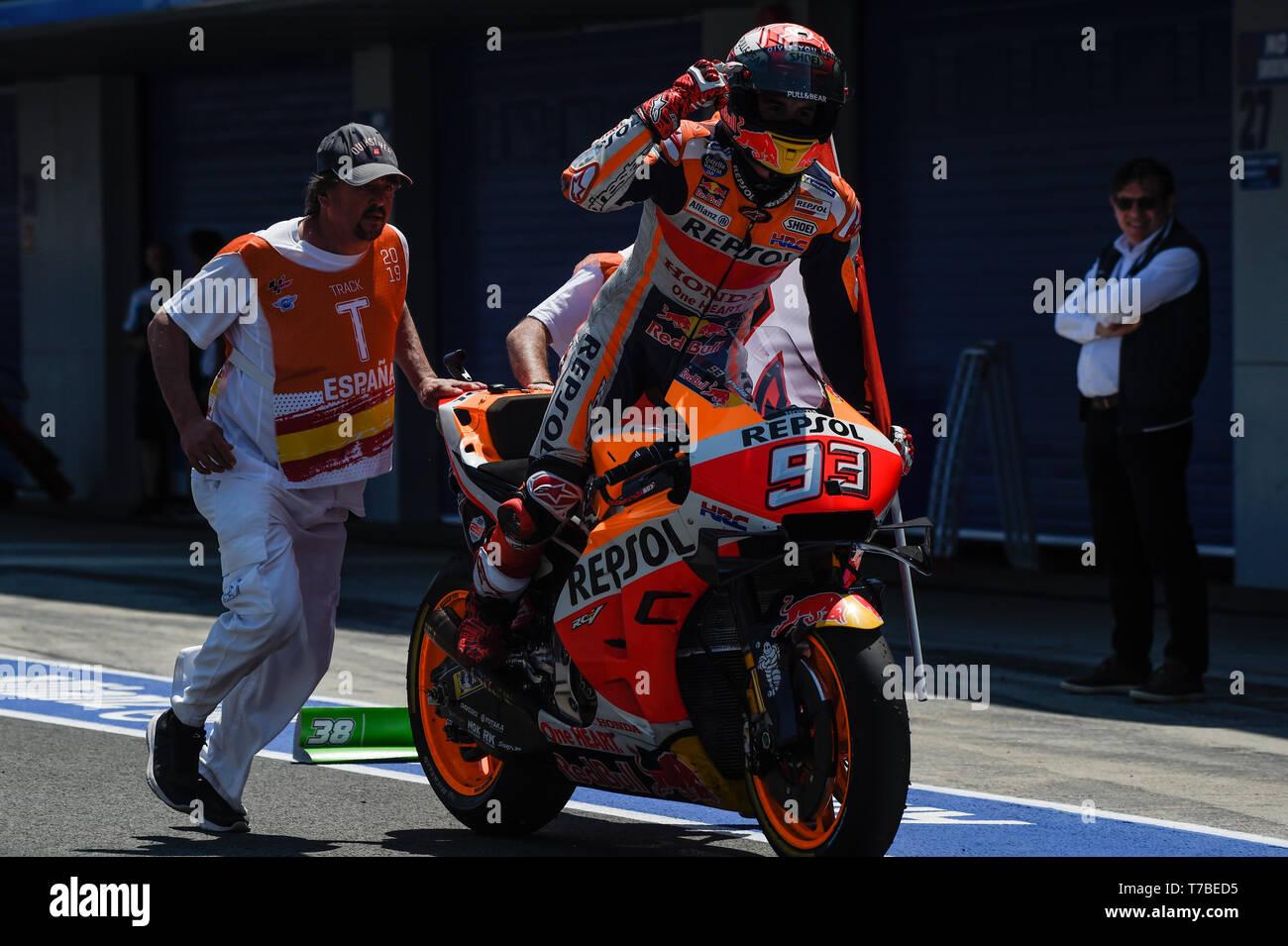 Marc Marquez Win In Honda Stock Photos & Marc Marquez Win In