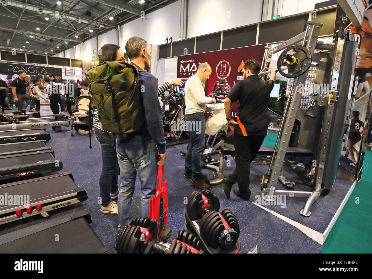 London uk th may state of the art gym products seen