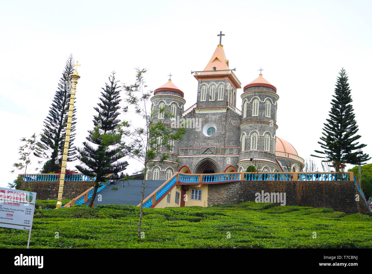 Our lady of good health church - Stock Image