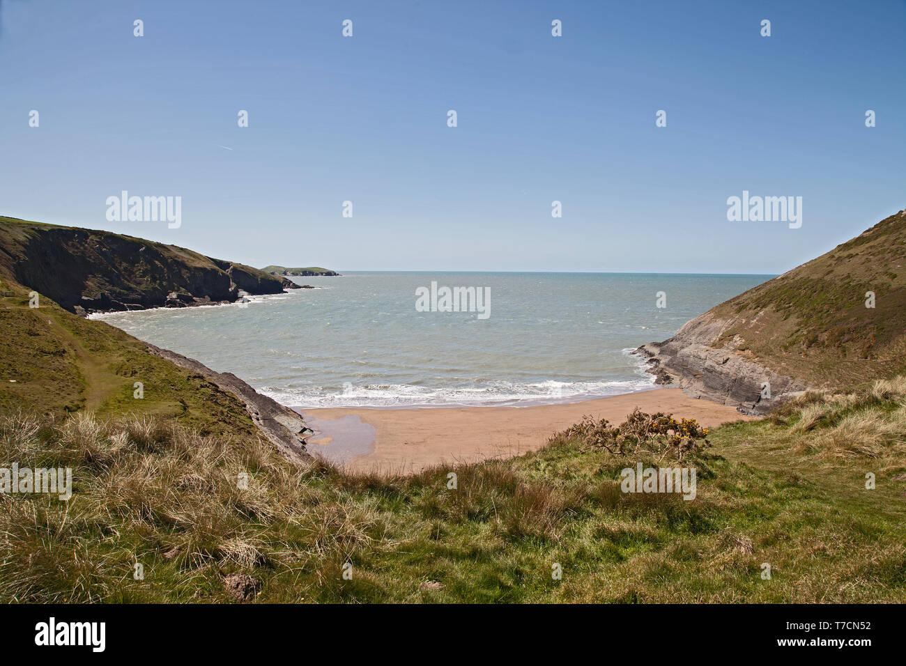 Mwnt, Ceredigion, Wales,UK. - Stock Image