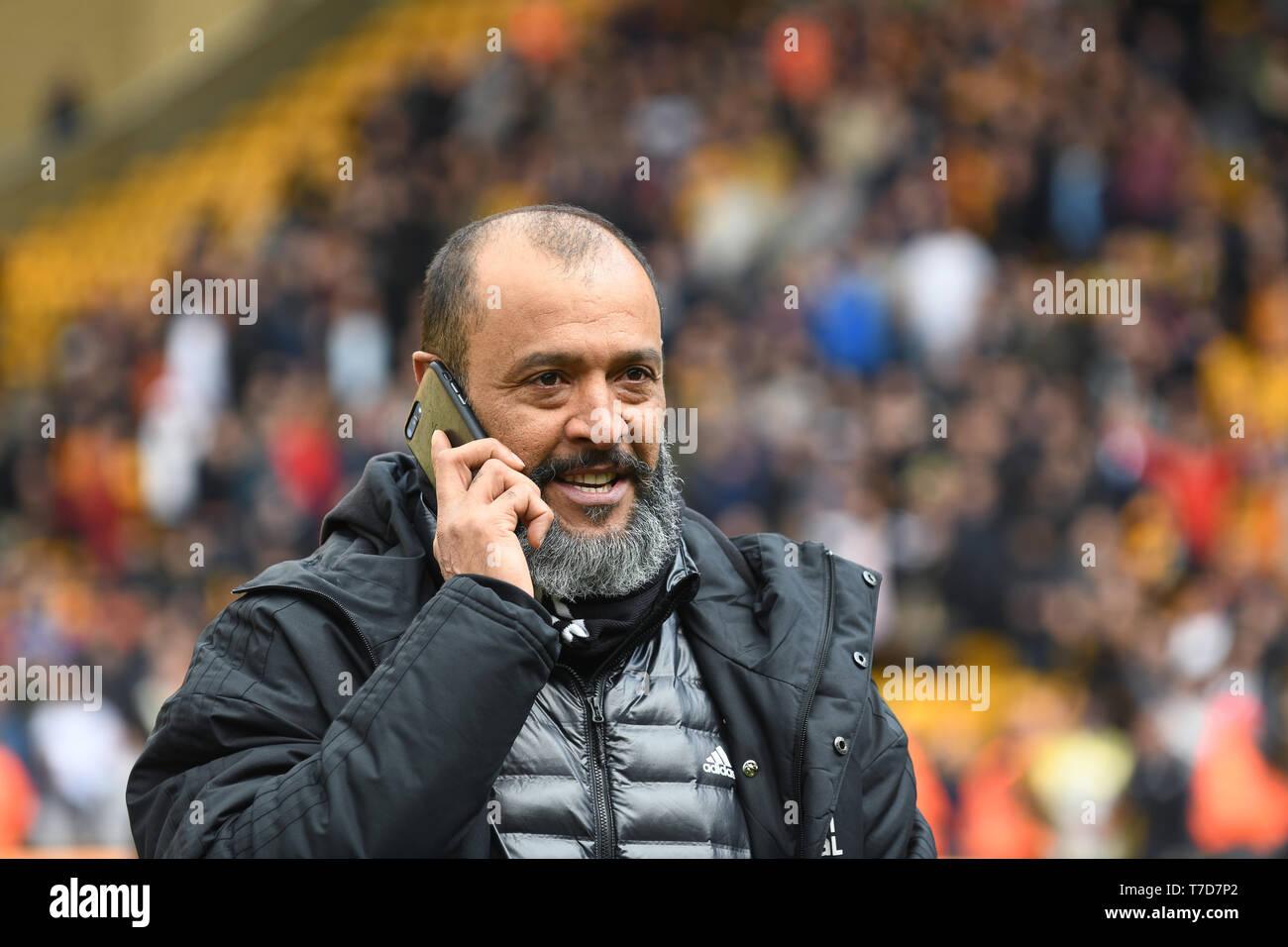 Football Coach Nuno Espirito Santo Stock Photo Alamy