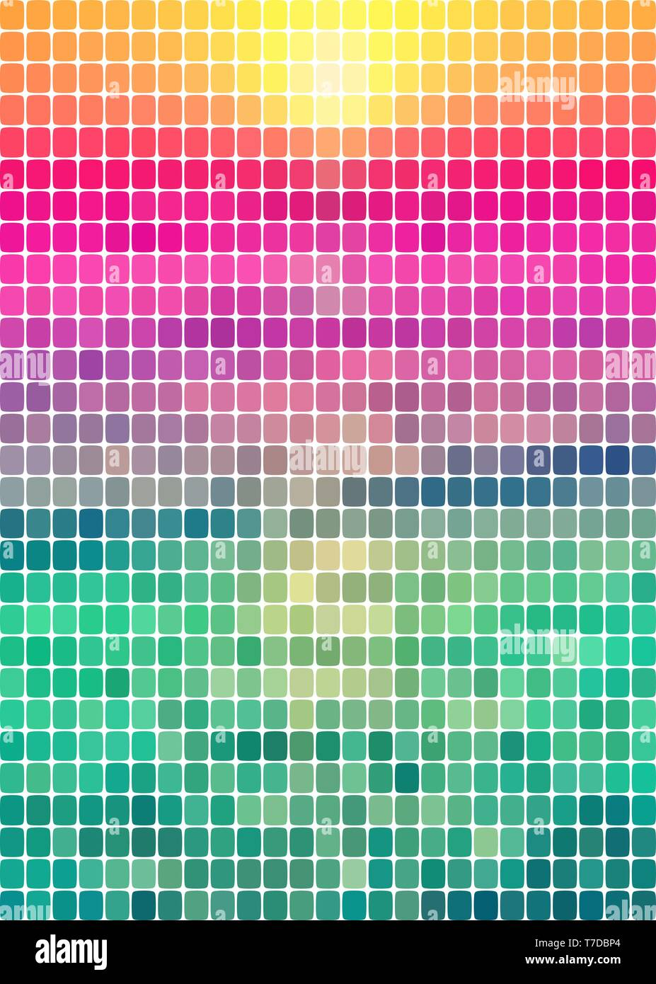 background of multi-colored rectangles - Stock Vector