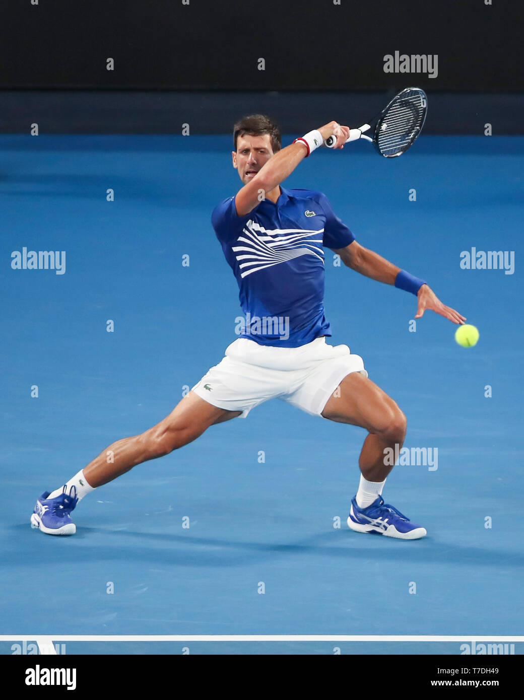 Djokovic Forehand High Resolution Stock Photography And Images Alamy