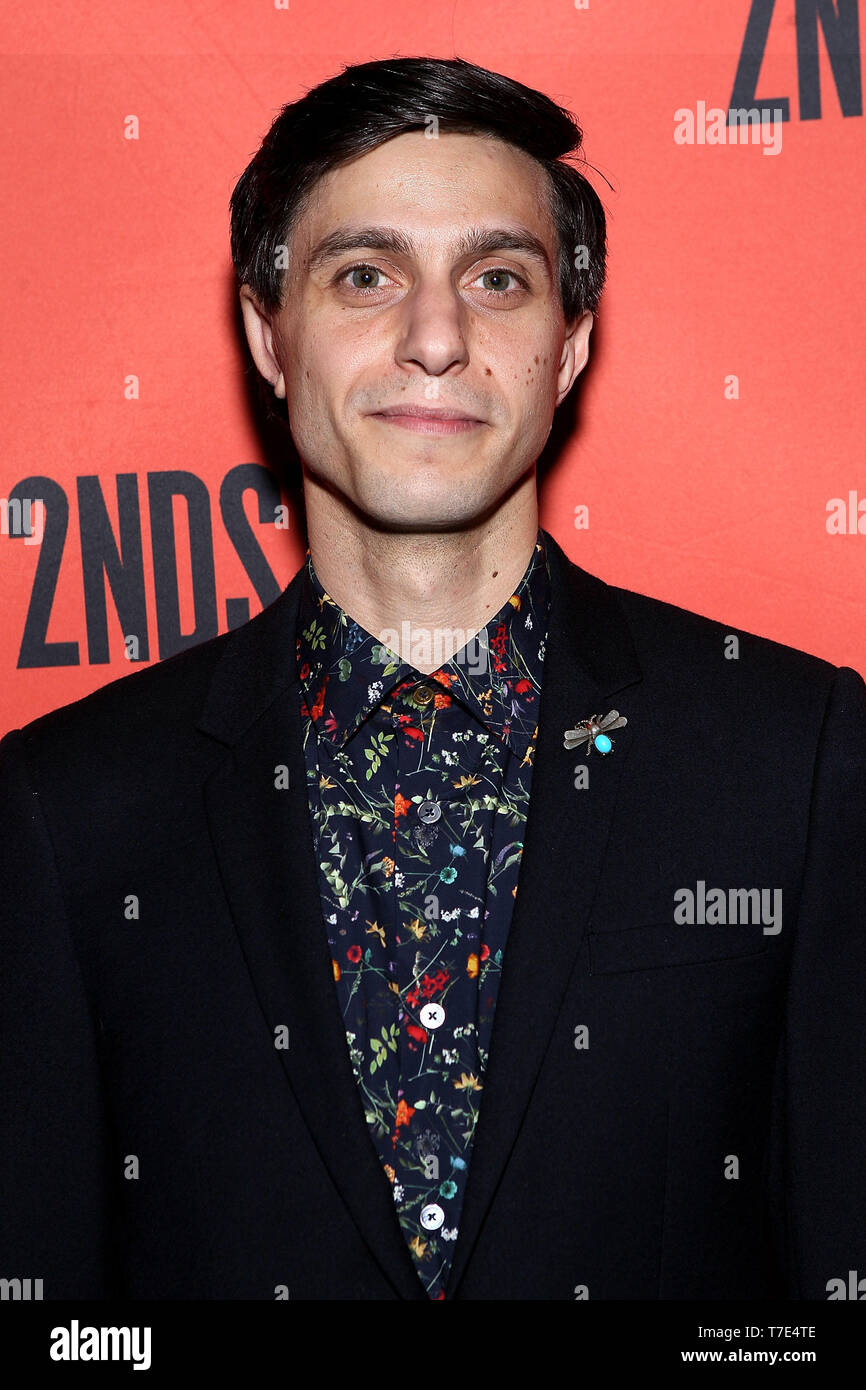 New York, USA. 6 May, 2019. Gideon Glick at the Second Stage 40th Birthday Gala at The Hammerstein Ballroom. Credit: Steve Mack/Alamy Live News - Stock Image