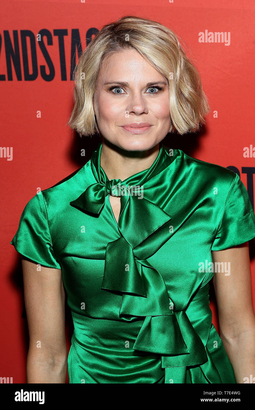 New York, USA. 6 May, 2019. Celia Keenan-Bolger at the Second Stage 40th Birthday Gala at The Hammerstein Ballroom. Credit: Steve Mack/Alamy Live News - Stock Image