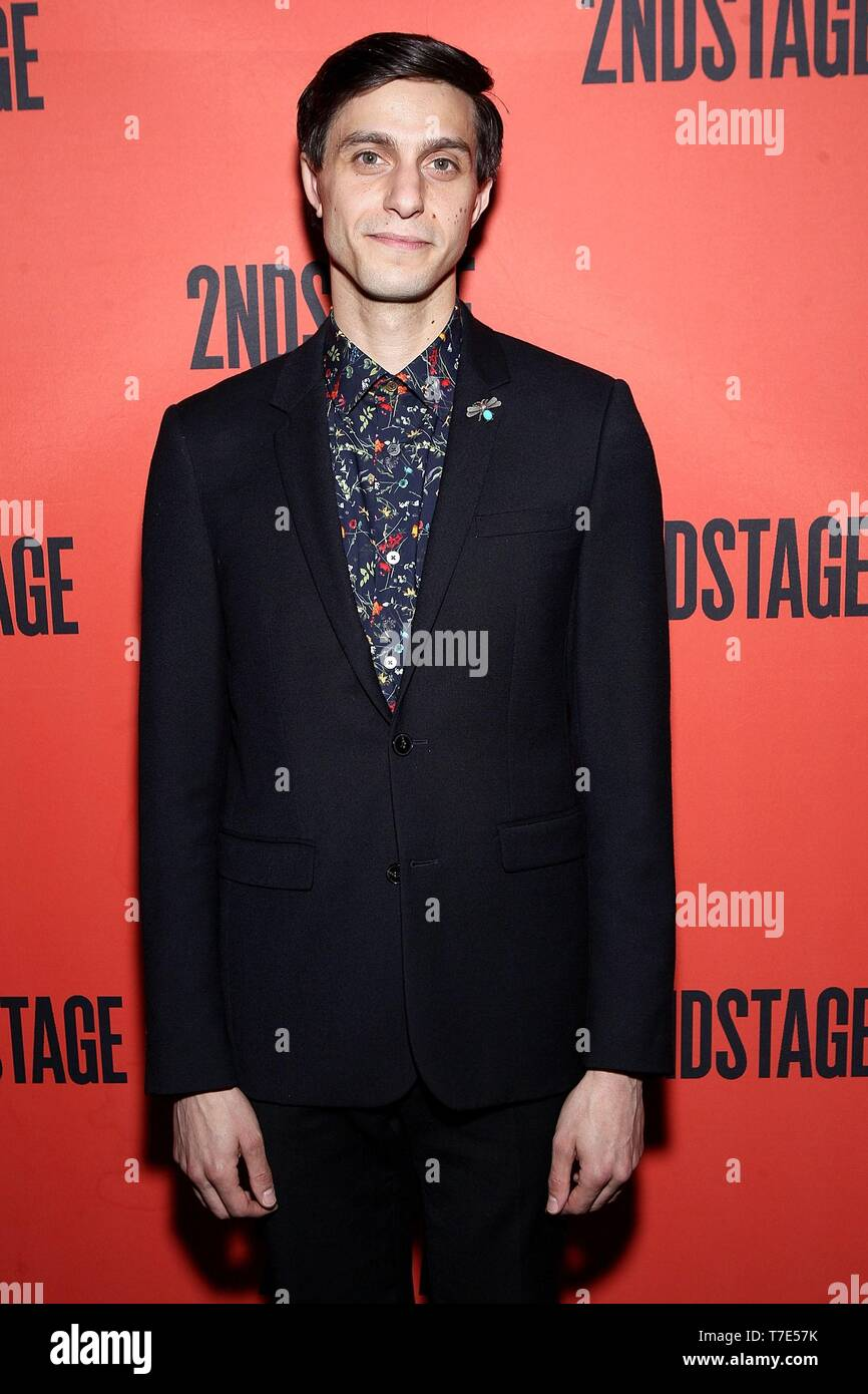 New York, NY, USA. 6th May, 2019. Gideon Glick at arrivals for The Second Stage 40th Birthday Gala, Hammerstein Ballroom, New York, NY May 6, 2019. Credit: Steve Mack/Everett Collection/Alamy Live News - Stock Image