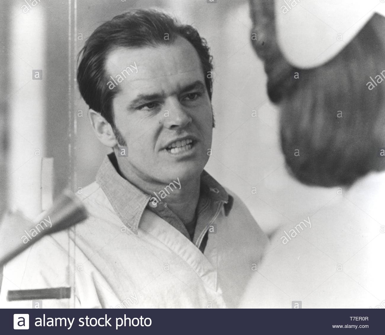 Film still of Jack Nicholson in One Flew Over The Cuckoo's Nest Credit: MSNGlobe / MediaPunch - Stock Image