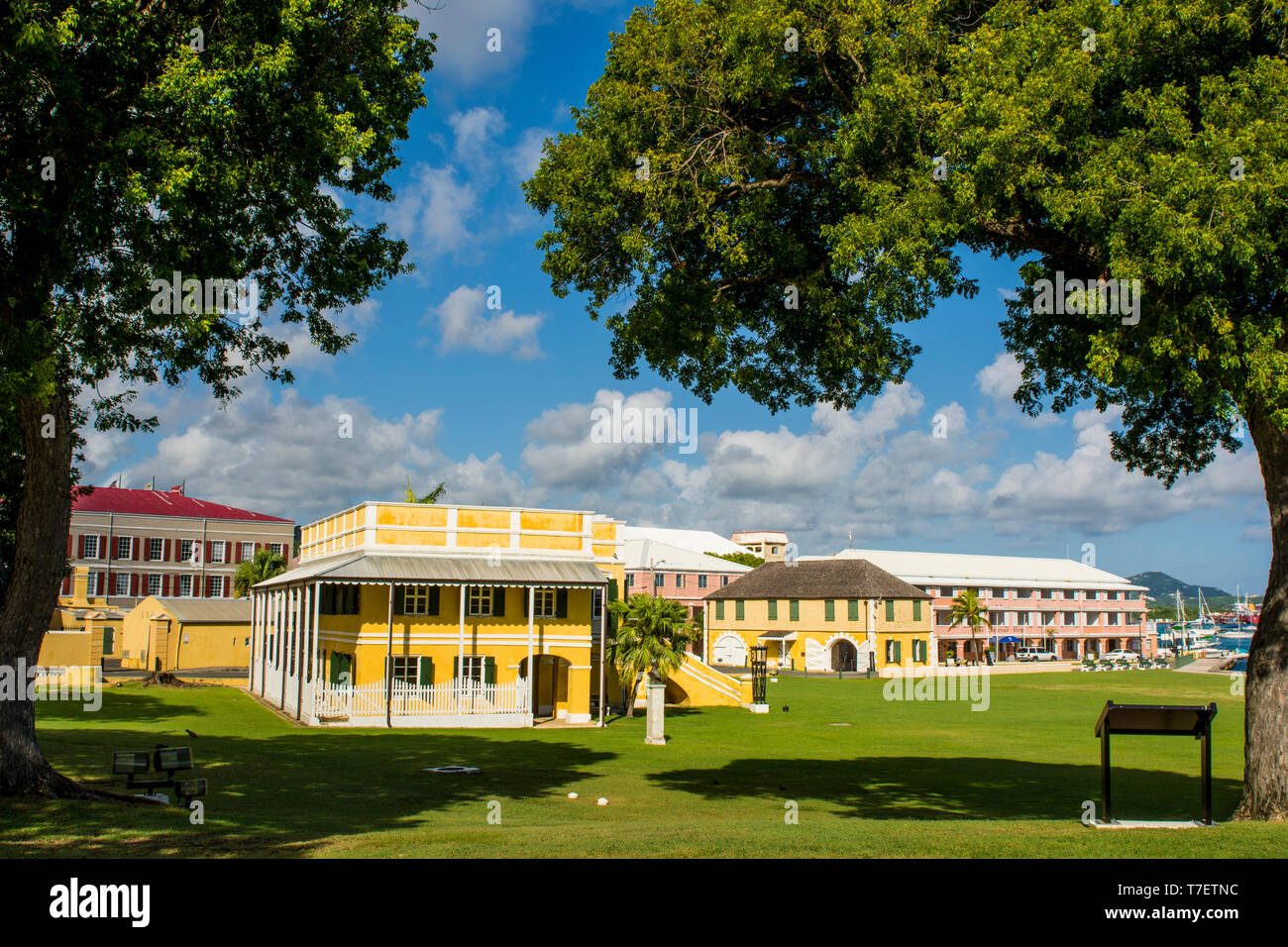 Old Danish Customs House, Christiansted National Historic ...