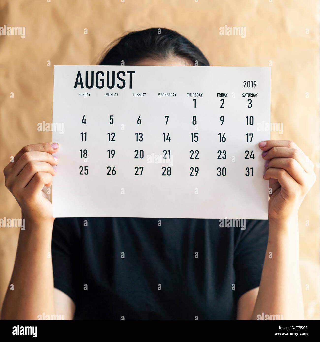 Calendar 2019 Stock Photos & Calendar 2019 Stock Images - Alamy