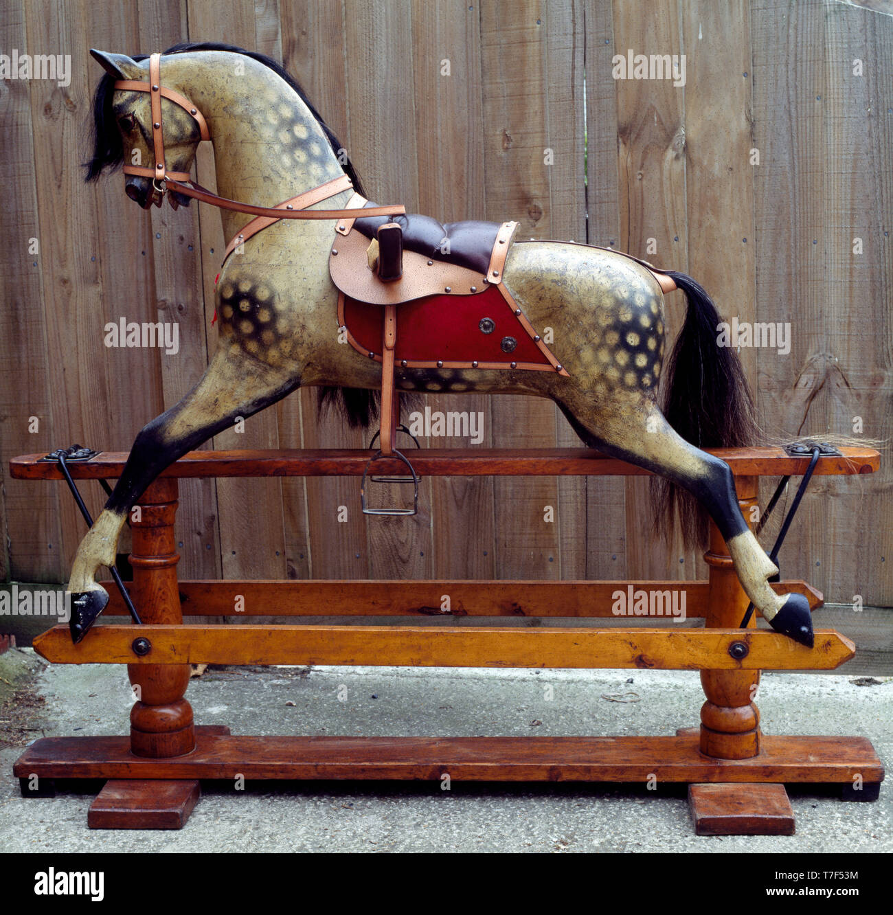Vintage Rocking Horse High Resolution Stock Photography And Images Alamy