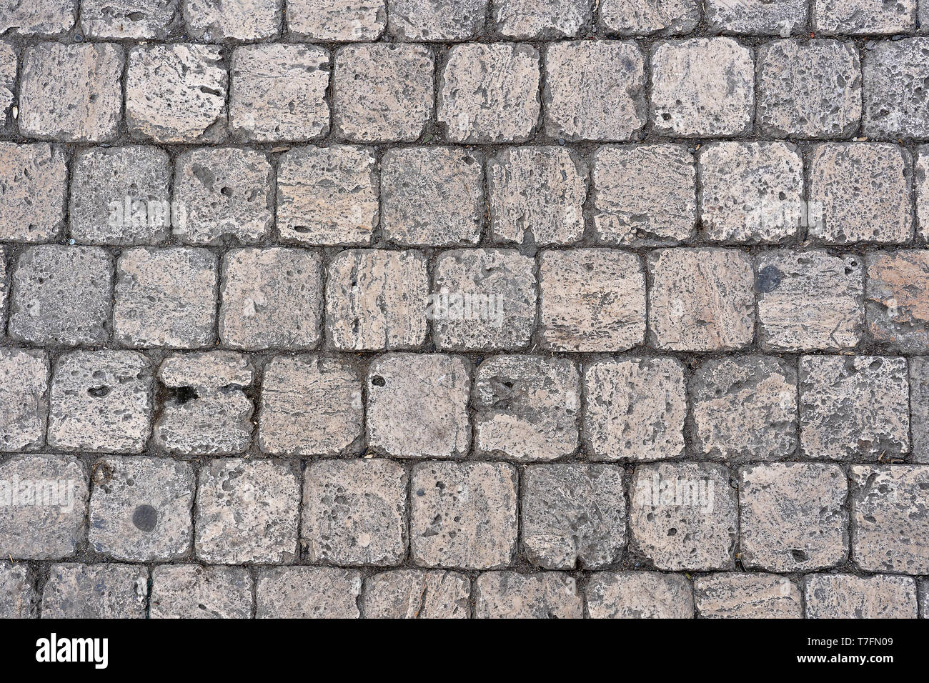 Gray Stone Wall Background Texture Close Up Top View